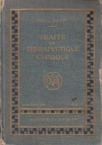 Traite de therapeutique clinique, Supplement (1955), Tome IV