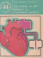 Ce trebuie sa stie bolnavul cu insuficienta cardiaca