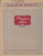 Versuri alese - Szemler Ferenc