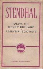 Viata lui Henry Brulard Amintiri