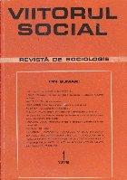 Viitorul Social. Revista de Sociologie, Nr. 1/1972